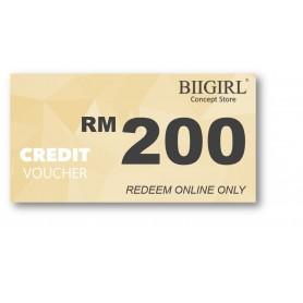 Credit Voucher RM200