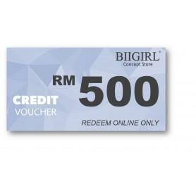 Credit Voucher RM500