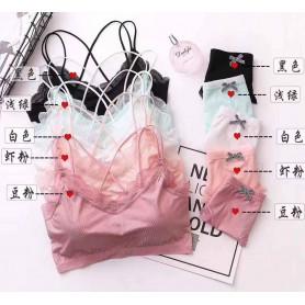 F96 Ice Silk Inner Set with Panties