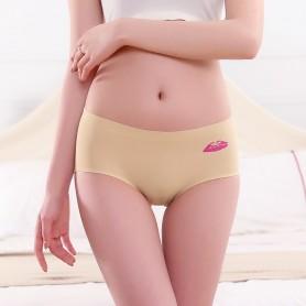 6033 Seamless Ice Silk Panties