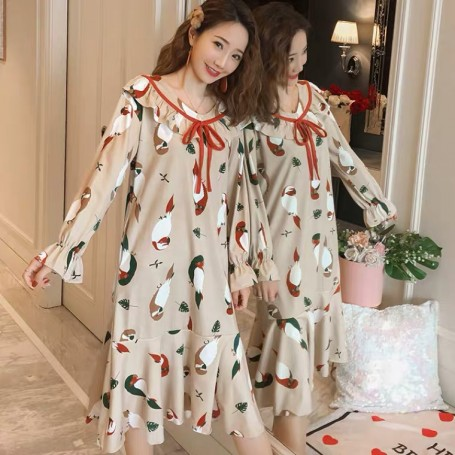 PA1694 Cotton Sleep Wear 睡裙