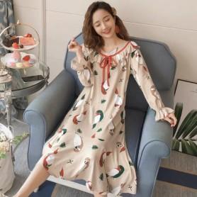 PA1694 Cotton Sleep Wear 睡裙