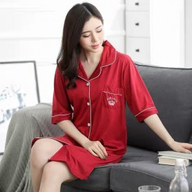 PA1695 Cotton Sleep Wear 睡裙