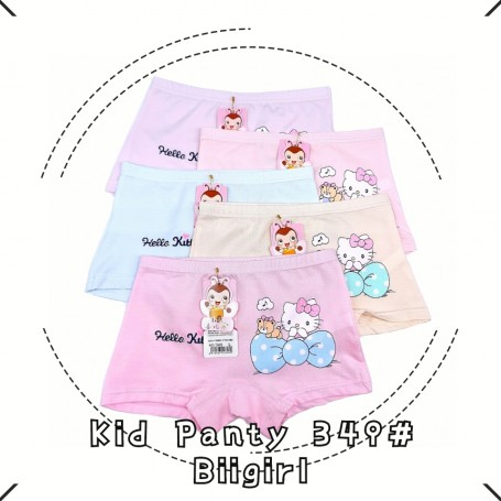 349 Hello Kitty Ribbon Kid Panties