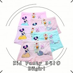 341 Minnie Mouse Kid Panties