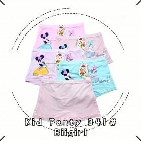 341 Minnie Mouse Kid Panties