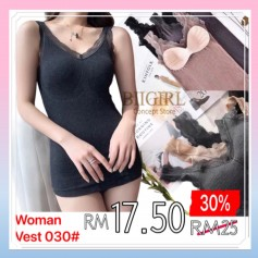 030 Stylish Women Vest 小熊背心