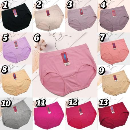 3001 Plus Size Cotton Panties