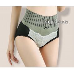 P1041 Japan Lace new design High Waist Burn Fat Women's Panties
