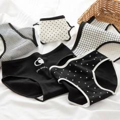 K307 Kawaii Panties 5pcs Set 可爱内裤5件套装