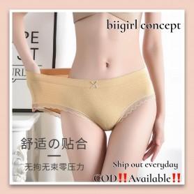 K316 Bubble Cotton Panties ( 1pc ) Plus