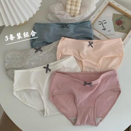 Kawaii Panties 5pcs Set
