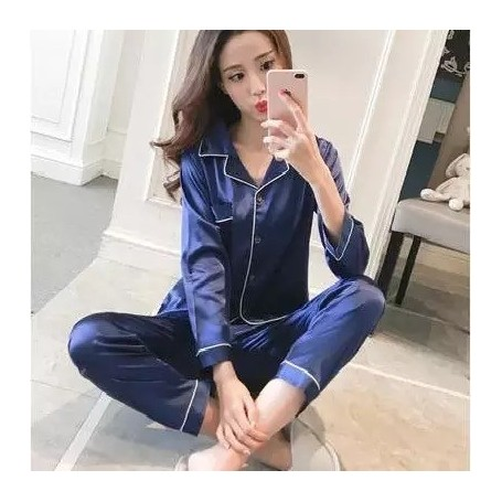 Pajamas Long Sleeve Trousers