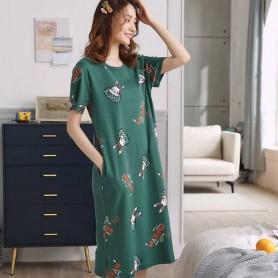 Cotton Nylon Pajamas 睡裙