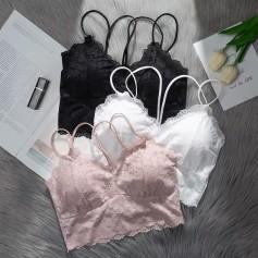 023 New Stylish Silk Inner Wear 简约欧美时尚冰丝内搭